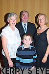 Attending the Killarney Pitch and Putt Social in The Killarney Avenue Hotel on Friday night were Eileen Swizer, Donal , Sheila and Padraig O'Mahoney all Killarney.   Copyright Kerry's Eye 2008