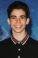 "HOLLYWOOD, CA - NOVEMBER 19: Cameron Boyce at the World Premiere Of Walt Disney Animation Studios' ""Frozen"" held at the El Capitan Theatre on November 19, 2013 in Hollywood, California. (Photo by David Acosta/Celebrity Monitor)"