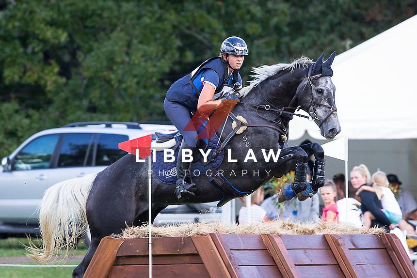 NZL-Samantha Felton (RICKER RIDGE FIGARO MVNZ) 2015 NZL-Troy Wheeler Contracting Springbush International Horse Trial (Sunday 29 March) CREDIT: Libby Law COPYRIGHT: LIBBY LAW PHOTOGRAPHY