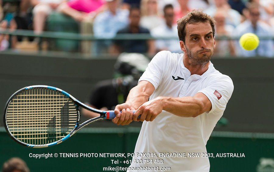 ALBERT RAMOS-VINOLAS (ESP)<br /> <br /> TENNIS - THE CHAMPIONSHIPS - WIMBLEDON- ALL ENGLAND LAWN TENNIS AND CROQUET CLUB - ATP - WTA -ITF - WIMBLEDON-SW19, LONDON, GREAT  BRITAIN- 2017  <br /> <br /> <br /> &copy; TENNIS PHOTO NETWORK