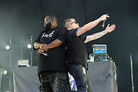 LONDON, ENGLAND - JUNE 30: Killer Mike and El-P of 'Run the Jewels' performing at Finsbury Park on June 30, 2018 in London, England.<br /> CAP/MAR<br /> &copy;MAR/Capital Pictures