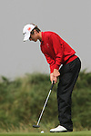 Tim Harry (WALES) on the 3rd on the Final Day at the 2012 Boys Home Internationals at Co.Louth Golf Club in Baltray, Co.Louth...(Photo credit should read Jenny Matthews/NEWSFILE)...