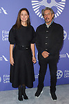 Julie Taymor and Elliot Goldenthal arrive at the Film at Lincoln Center's 50th Anniversary Gala on Monday April 29, 2019; in Alice Tully Hall at 1941 Broadway in New York, NY.