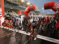 PICTURE BY MARK GREEN/SWPIX.COM ATP  Tour of Abu Dhabi - Yas Island Stage, UAE, 26/02/17<br /> Start of the Yas Marina Stage of the 2017 Tour of Abu Dhabi
