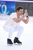 "Max Evans<br /> at the ""Dancing on Ice"" launch photocall, natural History Museum, London<br /> <br /> <br /> ©Ash Knotek  D3365  19/12/2017"
