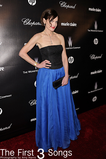 Elizabeth McGovern attends the 2012 Weinstein Company Golden Globes After Party at The Beverly Hilton Hotel in Beverly Hills, CA on January 15, 2012.