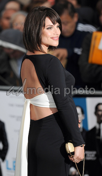 "03 September 2015 - London, England - Charlotte Riley. ""Legend"" London Premiere held at Odeon Leicester Square. Photo Credit: Jeff Spicer/Alpha Press/AdMedia"