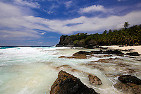 Dolly Beach, Christmas Island, Indian Ocean