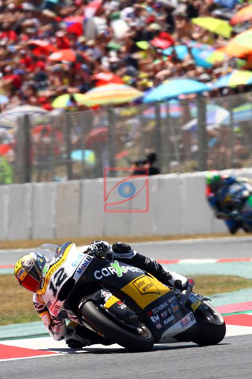 Gran Premi Monster Energy de Catalunya 2017.<br /> Moto 2 Race.<br /> Thomas Luthi.