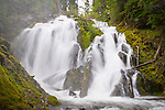 National Creek Falls in the Rogue River National Forest, Oregon