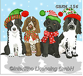 Kate, CHRISTMAS ANIMALS, WEIHNACHTEN TIERE, NAVIDAD ANIMALES, paintings+++++Christmas page 46,GBKM156,#xa# ,dog,dogs