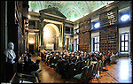 Accademia delle Scienze. Immagine appartenente al progetto fotografico Vita da Museo di Marco Saroldi.