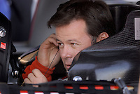 Apr 19, 2007; Avondale, AZ, USA; Nascar Nextel Cup Series driver Robby Gordon (7) during qualifying for the Subway Fresh Fit 500 at Phoenix International Raceway. Mandatory Credit: Mark J. Rebilas