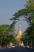 Yangon generic street scenes