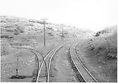 #456 at Cerro Summit wye.<br /> D&amp;RGW  Cerro Summit, CO  Taken by Richardson, Robert W. - 10/14/1945