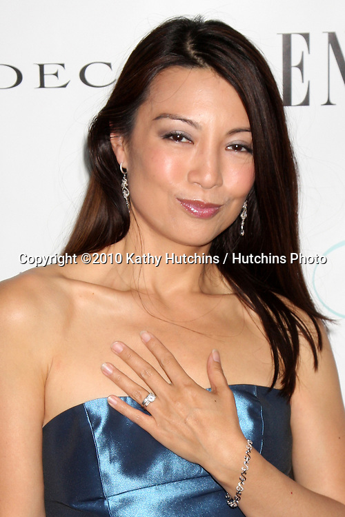 LOS ANGELES - JUL 17:  Ming-Na arrives at the Fourth Annual Enzoani Fashion Event wearing Enzoani at J.W. Mariott Hotel - LA Live on July17, 2010 in Los Angeles, CA ....