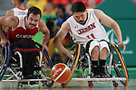 Kiyoshi Fujisawa (JPN),<br /> SEPTEMBER 11, 2016 - Wheelchair Basketball : <br /> Preliminary Round Group A<br /> match between Japan - Canada<br /> at Rio Olympic Arena<br /> during the Rio 2016 Paralympic Games in Rio de Janeiro, Brazil.<br /> (Photo by Shingo Ito/AFLO)