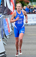 Photo: Paul Greenwood/Richard Lane Photography. Strathclyde Park Elite Triathlon. 17/05/2009. .Scotland's Kerry Lang.