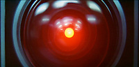 2001: A Space Odyssey (1968) <br /> The camera eye of the HAL 9000 computer on Discovery One spaceship (voice of Douglas Rain)<br /> *Filmstill - Editorial Use Only*<br /> CAP/KFS<br /> Image supplied by Capital Pictures