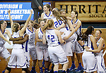 Lubbock Christian vs Bentley University 2016 NCAA Division II Women's Basketball Championship