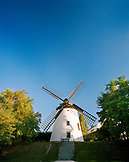 AUSTRIA, Podersdorf, windmill in the town of Podersdorf, Burgenland
