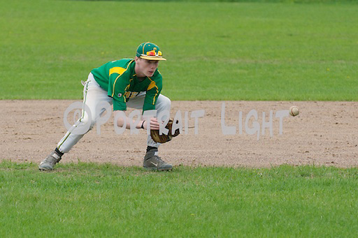 CHS senior second baseman Luke Elworthy.