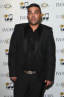 Naughty Boy arriving for the 59th Ivor Novello Awards, at the Grosvenor House Hotel, London. 22/05/2014 Picture by: Alexandra Glen / Featureflash