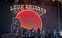 SAN FRANCISCO, CALIFORNIA - AUGUST 11: Leon Bridges during the 2019 Outside Lands Music And Arts Festival at Golden Gate Park on August 11, 2019 in San Francisco, California. Photo: Alison Brown/imageSPACE/MediaPunch