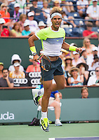 RAFAEL NADAL (ESP)<br /> <br /> Tennis - BNP PARIBAS OPEN 2015 - Indian Wells - ATP 1000 - WTA Premier -  Indian Wells Tennis Garden  - United States of America - 2015<br /> &copy; AMN IMAGES