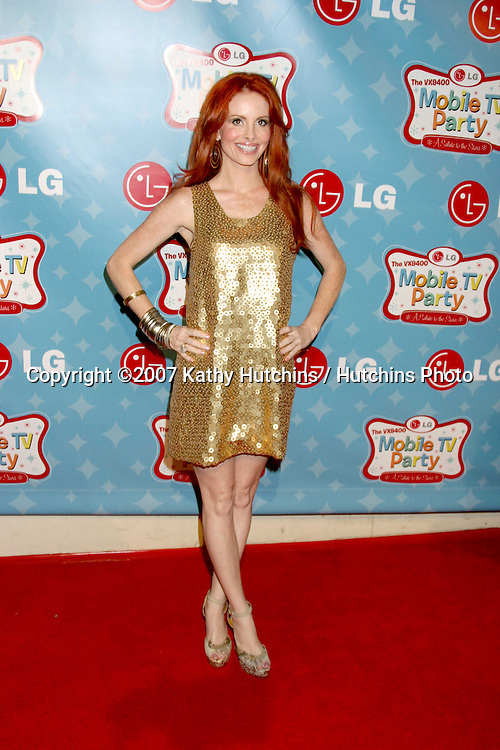 Phoebe Price.LG's Mobile TV Party.Paramount Studios.Los Angeles, CA.June 19, 2007.©2007 Kathy Hutchins / Hutchins Photo....