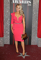 Amy Walsh at The British Soap Awards 2019 arrivals. The Lowry, Media City, Salford, Manchester, UK on June 1st 2019<br /> CAP/ROS<br /> ©ROS/Capital Pictures