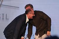 SAO PAULO, 07.08.2018  - ELEI&Ccedil;&Otilde;ES 2018   - O candidato Geraldo Alckmin do PSDB participa da Govtech 2018 na tarde desta ter&ccedil;a-feira (07) no hotel Tivoli Mofarrej na zona sul de S&atilde;o Paulo.<br /> (Foto: Fabricio Bomjardim / Brazil Photo Press)