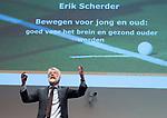 UTRECHT - Eric Scherder, hoogleraar neuropsychologie, is een van de sprekers. Nationaal Hockey Congres van de KNHB, COPYRIGHT KOEN SUYK