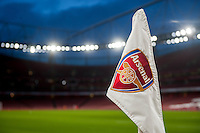 View of the Emirates stadium prior to the Barclays Premier League match between Arsenal and Swansea City at the Emirates Stadium, London, UK, Wednesday 02 March 2016