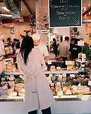 USA, California, Los Angeles, customer ordering cheese at Joan's On Third.