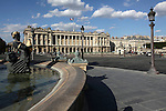 Fountain of River Commerce and Navigation in Place de la Concorde. Paris. France