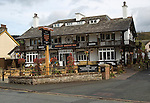 Pooley Bridge Inn, Pooley Bridge village, Lake District national park, Cumbria, England, UK