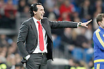 Sevilla's coach Unay Emery during La Liga match. March 20,2016. (ALTERPHOTOS/Acero)