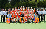 2010 Ned. Dames portr.+team