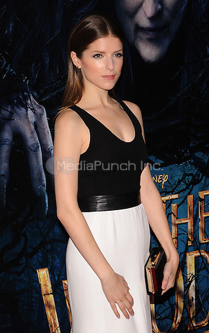 New York,NY-December 8: Anna Kendrick  attends the 'Into The Woods' world premiere at the Ziegfeld Theater on December 8, 2014. Credit: John Palmer/MediaPunch
