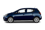 Car Driver side profile view of a 2015 Opel CORSA Enjoy 5 Door Hatchback Side View