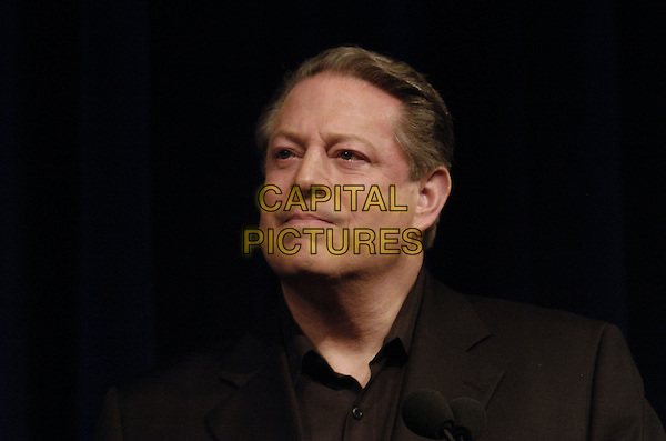 AL GORE.SOS opening night press conference for the Tribeca Film Festival at the BMCC/Tribecca Performing Arts Center, New York, New York, USA..April 25th, 2007.headshot portrait.CAP/ADM/BL.©Bill Lyons/AdMedia/Capital Pictures *** Local Caption ***
