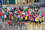 CHARITY: Hundreds showed up oyiutside the Grand Hotyel, Tralee on Sunday morning to take part in the 10k or Cycly in aid of the Cancer Endoscopathy Unit for Kerry General Hospital.....