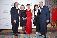 Raul Marmol, Anna Marmol, Olga Guilarte, Lori Cohen, and Norty Cohen attend The Boys and Girls Club of Miami Wild About Kids 2012 Gala at The Four Seasons, Miami, FL on October 20, 2012