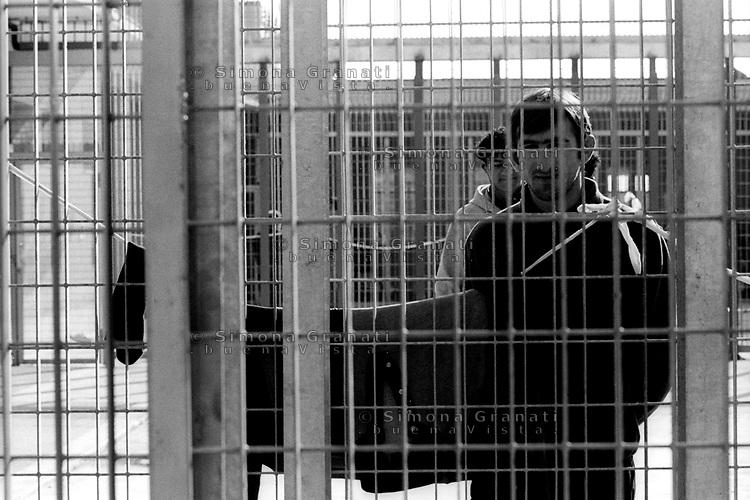 Roma, Ponte Galeria.CIE, centro di identificazione ed espulsione per immigrati, ex cpt centro di permanenza temporanea.Rome, Ponte Galeria.CIE: Center for identification and expulsion of immigrants, ex CPT detention temporary center
