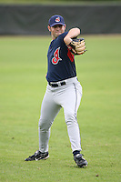 March 20th 2008:  Jonathan Holt of the Cleveland Indians minor league system during Spring Training at Chain of Lakes Training Complex in Winter Haven, FL.  Photo by:  Mike Janes/Four Seam Images