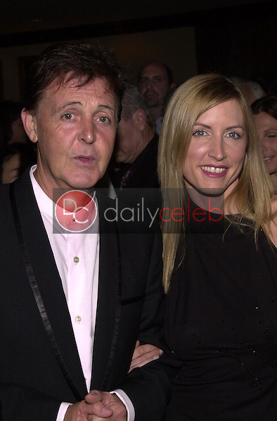 Paul McCartney and wife Heather Mills