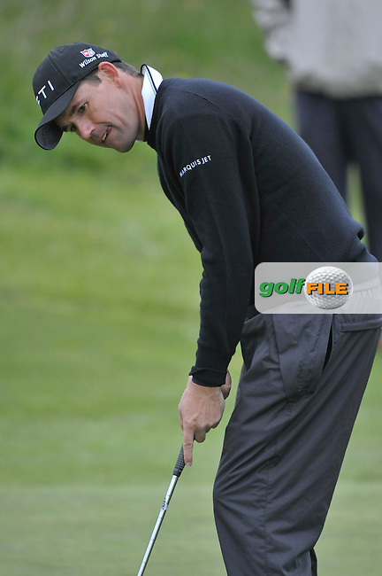 Padraig Harrington on the 16th green during the Pro-Am competition on 13th May 2009 (Photo by Eoin Clarke/GOLFFILE)