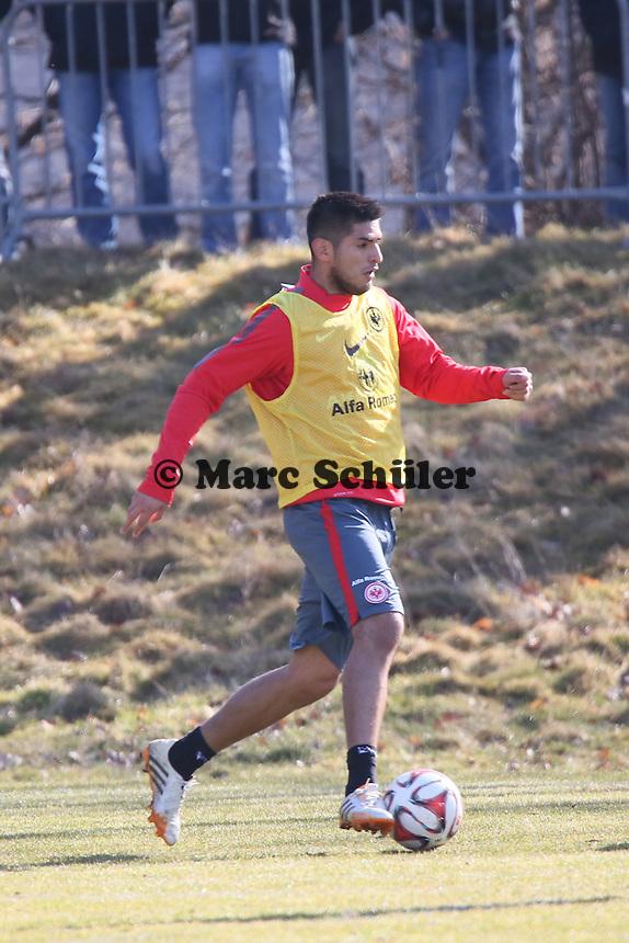 Carlos Zambrano - Eintracht Frankfurt Training, Commerzbank Arena