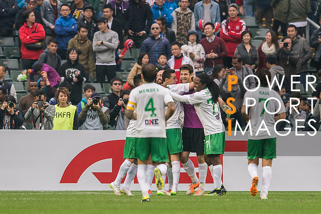 South China vs New York Cosmos at Hong Kong Stadium on 19 February 2015 in Hong Kong, China. Photo by Aitor Alcalde / Power Sport Images